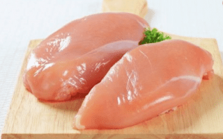 Blancs de poulet gratinés