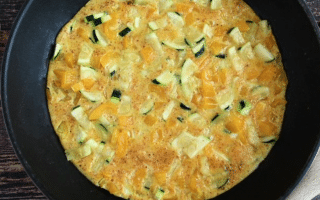 omelette aux courgettes