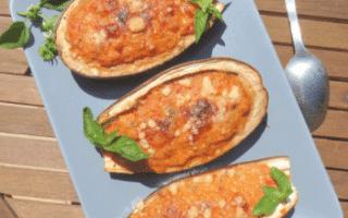 Recette d'aubergine farcie au thon