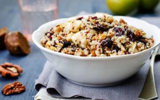 Salade de quinoa et cranberries