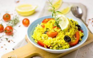 Paella végétarienne