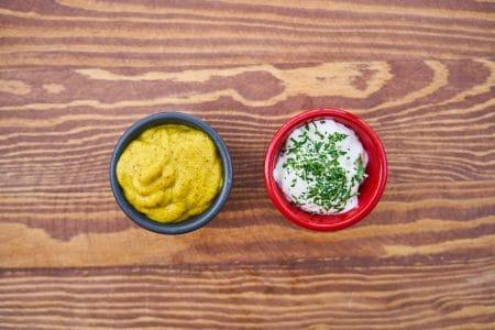 Réussir une mayonnaise moins calorique.